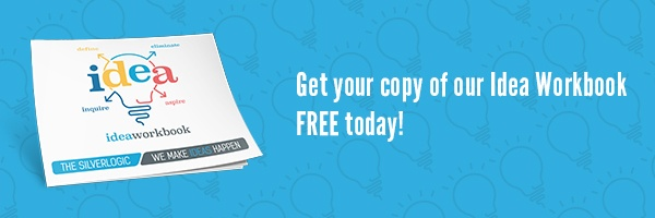 Get your copy of our Idea Workbook Free Today!